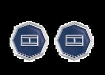 Gemelos para Camisa Tommy Hilfiger Octogonal Logo 2790042