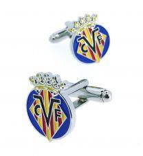 Gemelos para Camisa Villarreal Club de Fútbol