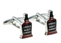 Gemelos para camisa Whisky Bottle Design