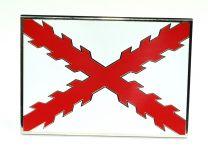 Hebilla de Cinturón Aspa de Borgoña o Cruz de San Andrés