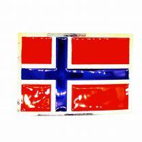 Hebilla de Cinturón Bandera Noruega 9x6cm