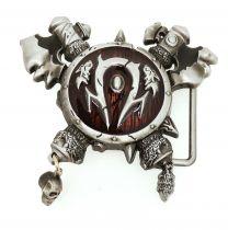 Hebilla de Cinturón Símbolo de la Horda World of Warcratf 8,5cm