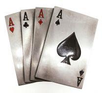 Hebilla de Cinturón Poker de Ases 7,5x6,5cm