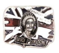 Hebilla de Cinturón Sex Pistols 9x7,5cm