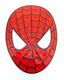 Hebilla de Cinturón Spiderman Modelo Ovalado 8,5x6cm