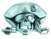 Hebilla de Cinturón Calavera Pirata