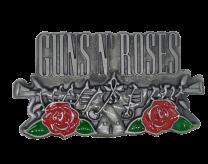 Hebilla de Guns N' Roses 9x5cm