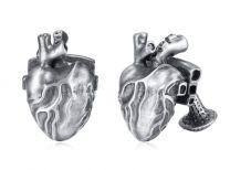 Gemelos para Camisa de EVBEA Corazón 30x15x15mm
