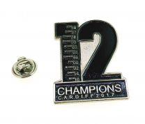 Insignia Pin Real Madrid 12 Champions
