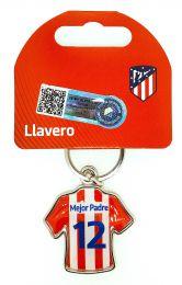 Llavero Atlético de Madrid Produto Oficial Mejor Padre