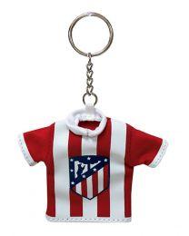 Llavero Camiseta Escudo Nuevo Atlético de Madrid Producto Oficial