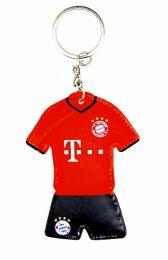 Llavero dos caras acolchado Bayern 7,5x6cm
