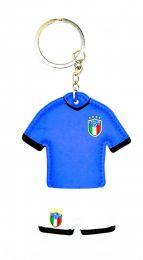 Llavero dos caras acolchado Italia 7,5x6cm