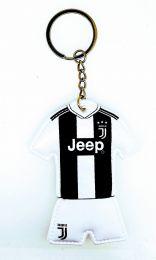 Llavero dos caras acolchado Juventus 7,5x6cm