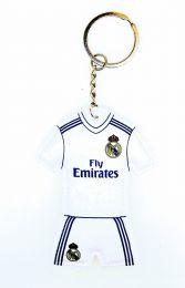 Llavero dos caras acolchado Real Madrid 7,5x6cm