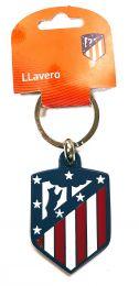 Llavero Escudo Nuevo Club Atlético de Madrid Color Producto Oficial V2