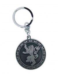 Llavero Juego de Tronos Rounded Casa Lannister Acero