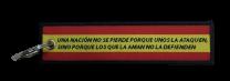 Llavero Lona Don Blas de Lezo Nacion 13x3 cm