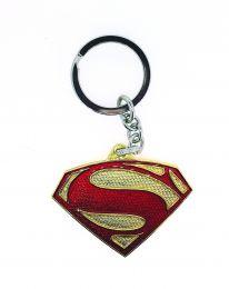 Llavero Superman Rojo y Dorado