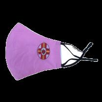Mascarilla Reutilizable y ajustable de Algodón Color Rosa Sagrado Corazon