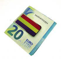 Money Clip Pinza de Billetes Bandera de la Segunda República Española