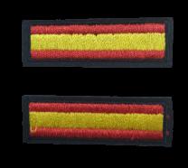 Pack 2 Parches Termoadhesivos Bandera España 5x1,5cm
