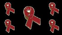 Pack 5 Pins de Solapa Lazo Bandera China Ribbon Flag China 30x25mm