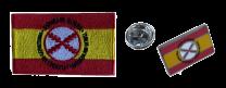 Pack Pin y Parche Bandera España Lema Tercios de Flandes