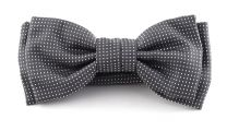 Pajarita Seda 100% HUGO Grey and Dots 50312686 Bow Tie