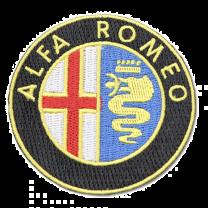 Parche Bordado Termoadhesivo Alfa Romeo 6cm
