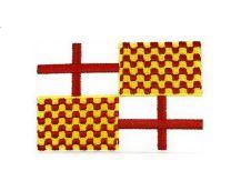 Parche Bordado Termoadhesivo de la Bandera de Tabarnia