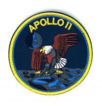 Parche Bordado Hook and Loop Apollo 11 8cm