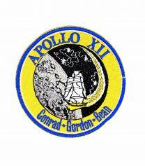 Parche Bordado Hook and Loop Apollo 12 8cm