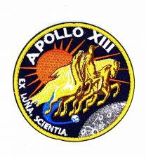 Parche Bordado Hook and Loop Apollo 13 8cm
