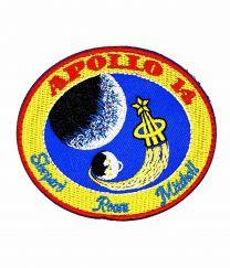 Parche Bordado Hook and Loop Apollo 14 8cm