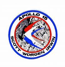Parche Bordado Hook and Loop Apollo 15 8cm