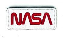 Parche Bordado Hook and Loop NASA 9x4cm