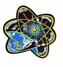 Parche Bordado Hook and Loop STS 134 Nasa 10x9cm