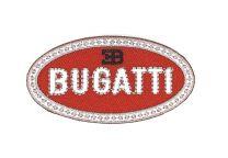 Parche Bordado Termoadhesivo Bugatti 7,5x4cm