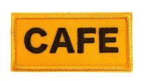 Parche Bordado Termoadhesivo CAFE