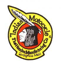 Parche Bordado Termoadhesivo Indian Motocycle 8.4x6.9cm