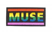 Parche Bordado Termoadhesivo MUSE Rainbow 8x4cm