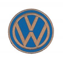 Parche Bordado Termoadhesivo Volkswagen 6cm