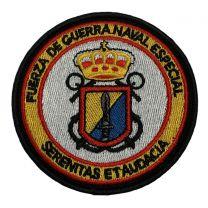 Parche Hook and Loop Fuerza de Guerra Naval Especial 8cm