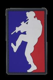 Parche Hoop and Loop PVC MLD (Major League Doorkicker) 8x5cm