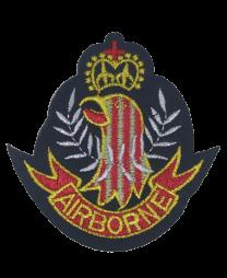 Parche Termoadhesivo Airborne UK 7x7cm