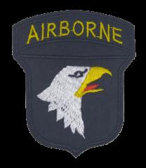 Parche Termoadhesivo Airborne Veterans 8x6,5cm
