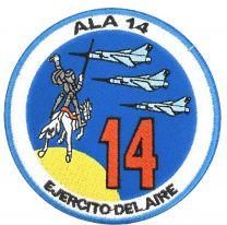 Parche Termoadhesivo Ala 14 Los Llanos Ejercito del Aire 9 Cm