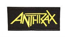 Parche Termoadhesivo Anthrax 10cm
