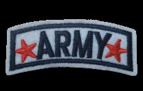 Parche Termoadhesivo Army 6,5x2,5cm